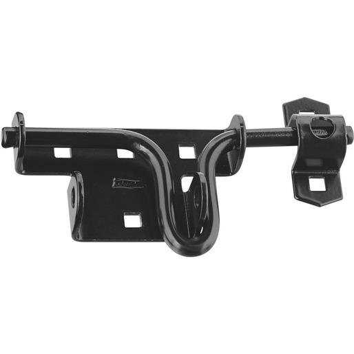 National Mfg. Blk Slide Bolt Latch N165506 Unit: PKG