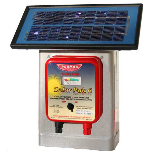 Parmak Precision DF-SP-LI 6-Volt Solar Pak Fencer