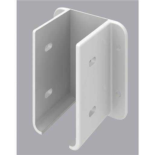 Universal Forest Products 2Pk Wht Fnc Bracket Kit 127605 Unit: EACH
